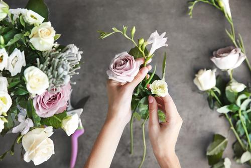 arrangement - bloemen - schmitz - vlodrop