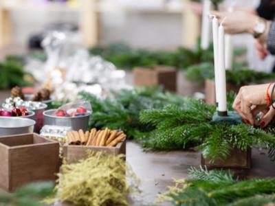Kerststukje kopen | Tuincentrum Schmitz