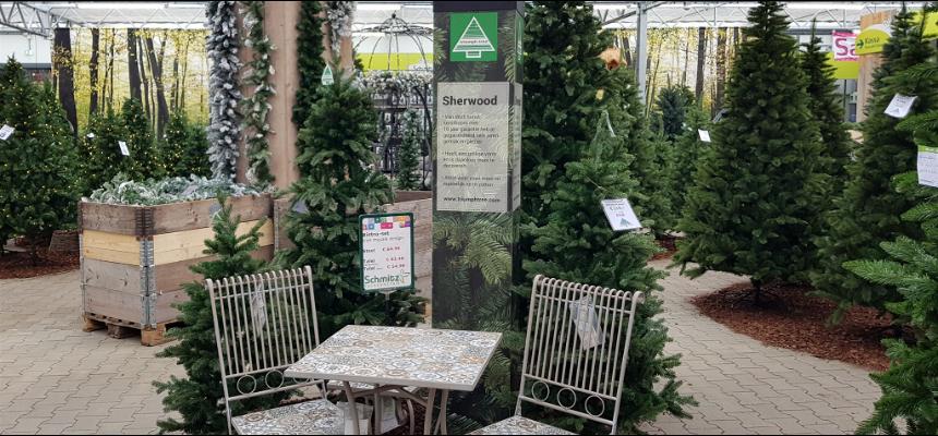 Kunstkerstboom kopen   Tuincentrum Schmitz