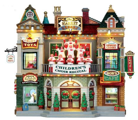 Ontdek ons assortiment Lemax huisjes op onze kerstafdeling