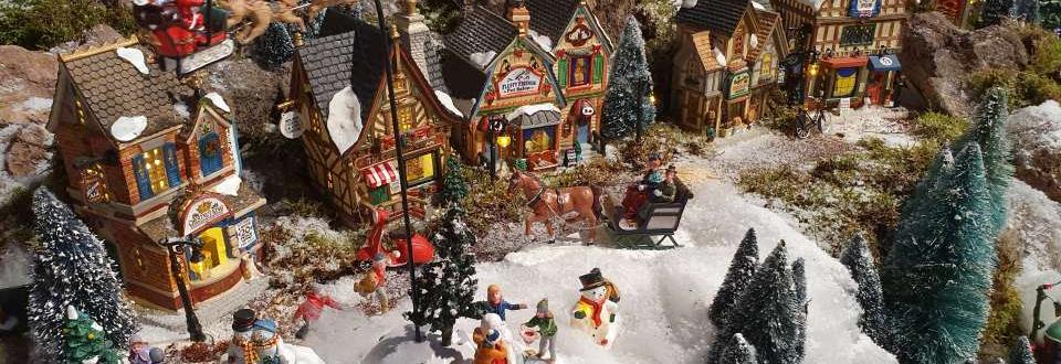 Lemax kerstdorp bouwen | Tuincentrum Schmitz