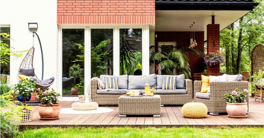 Loungesets voor buiten in de mooiste kleuren