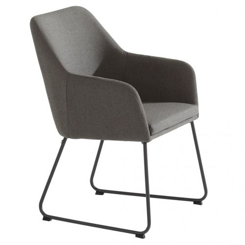 Amora dining chair upholstery Anthracite - afbeelding 2