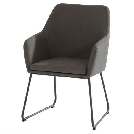Amora dining chair upholstery Anthracite - afbeelding 1