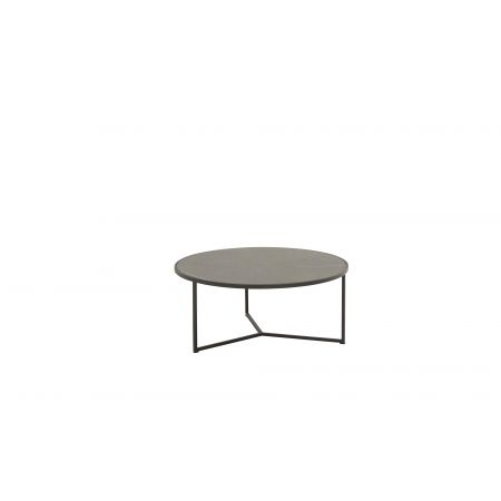 Atlas coffee table ceramic 80 cm.ø H 35