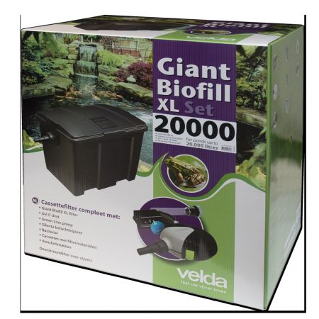 Giant Biofill XL Set 20000