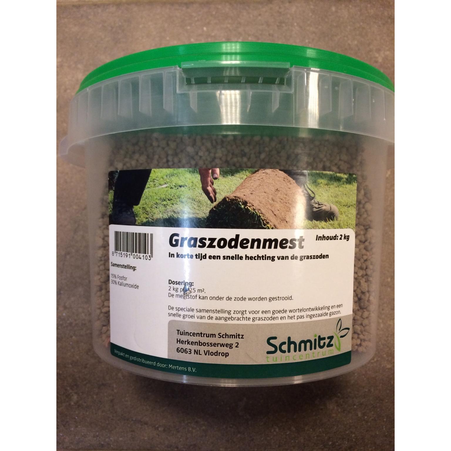 Graszodenmest 2 kg € 7,95