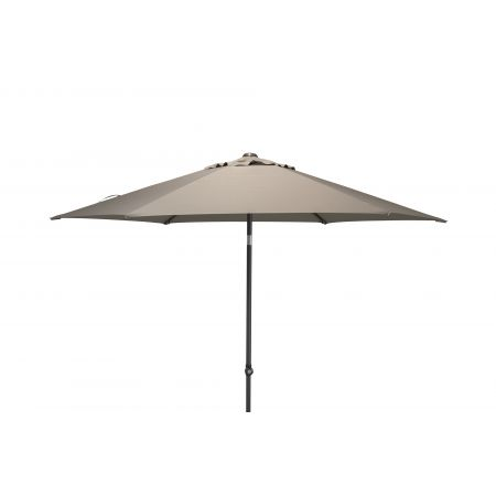 4 Seasons Outdoor Parasol Oasis 300 cm. Ø Taupe - afbeelding 1