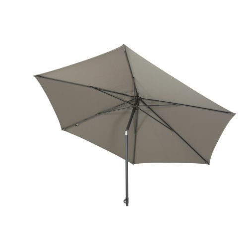 4 Seasons Outdoor Parasol Oasis 300 cm. Ø Taupe - afbeelding 2
